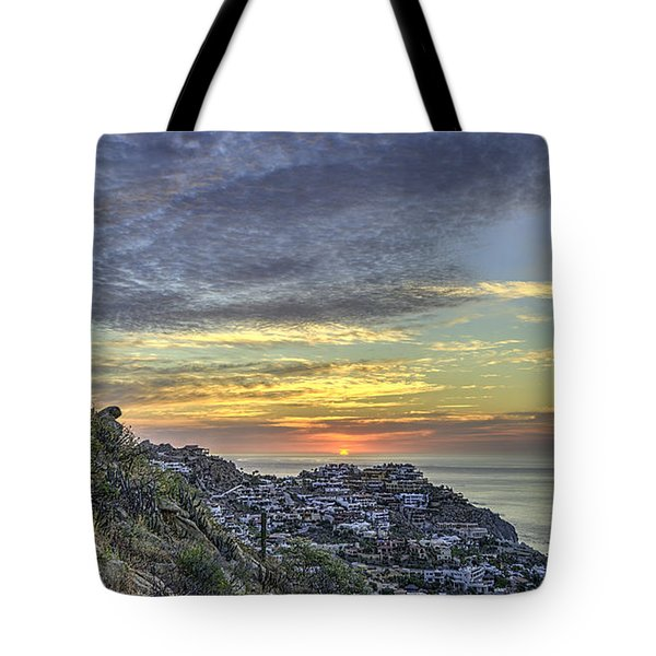 Sunrise On The Coast Tote Bag