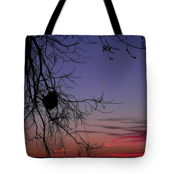 Sunrise On The Colorado Plains Tote Bag by Adrienne Petterson