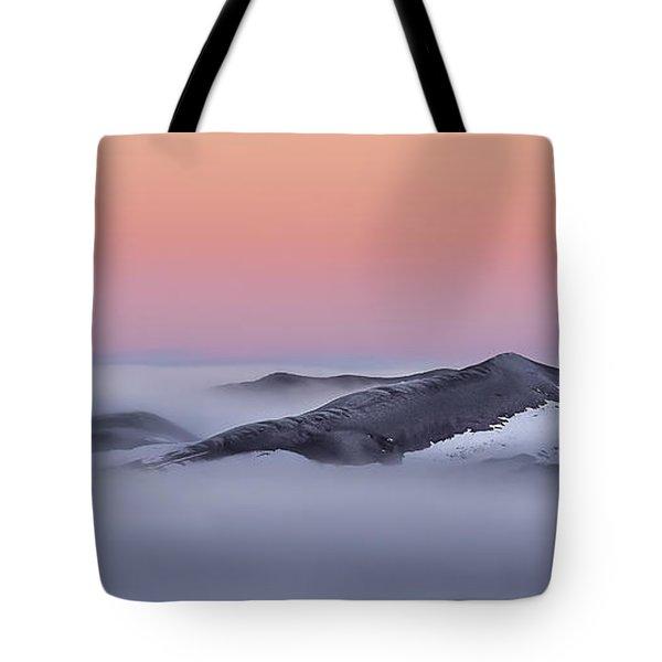 Sunrise On The Dunes Tote Bag