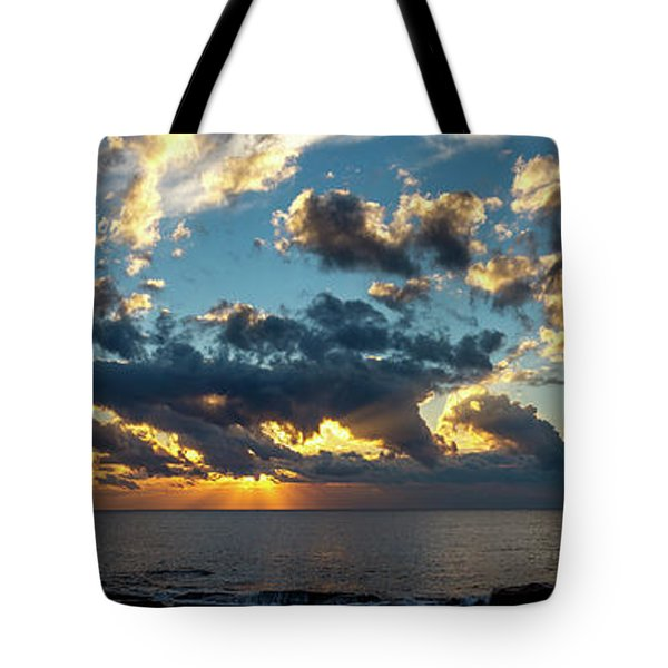 Sunrise On The French Riviera Tote Bag