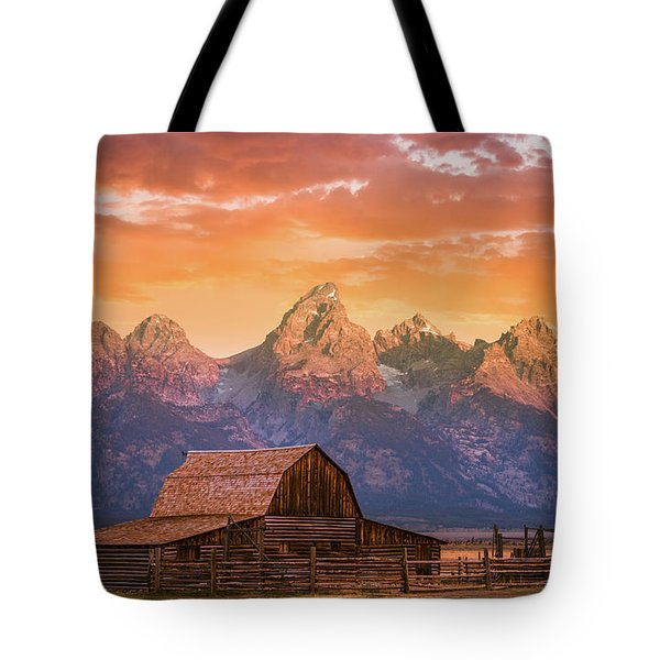 Sunrise On The Ranch Tote Bag