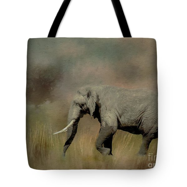 Tote Bag featuring the photograph Sunrise On The Savannah by Teresa Wilson