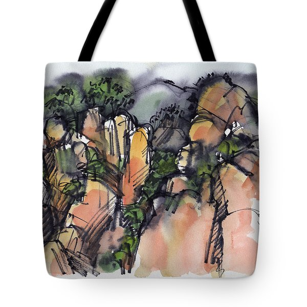 Sunrise On The Yellow Mountain, China Tote Bag