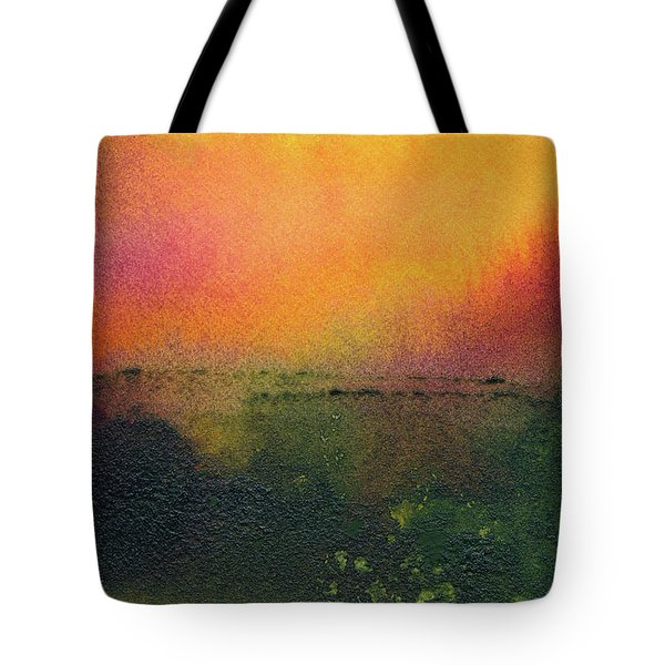 Sunrise Over A Marsh Tote Bag