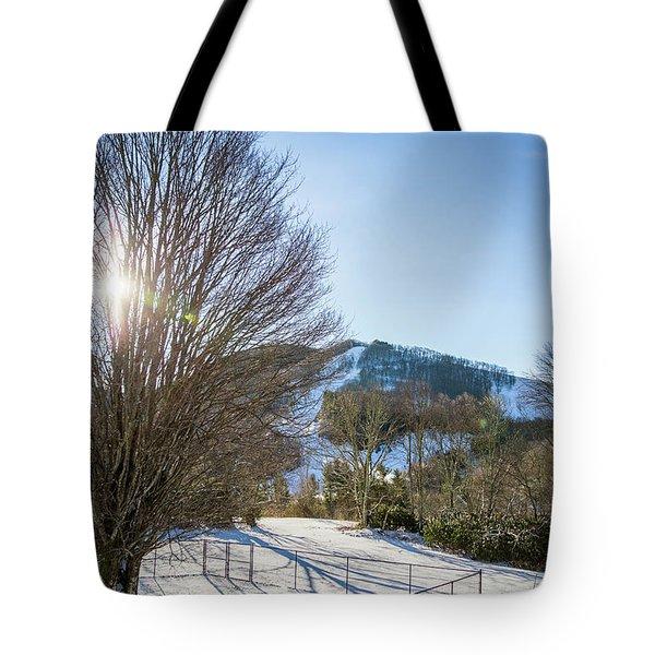 Sunrise Over Cataloochee Ski Tote Bag