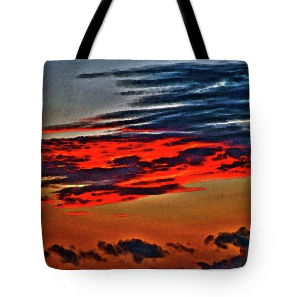 Sunrise Over Daytona Beach Tote Bag
