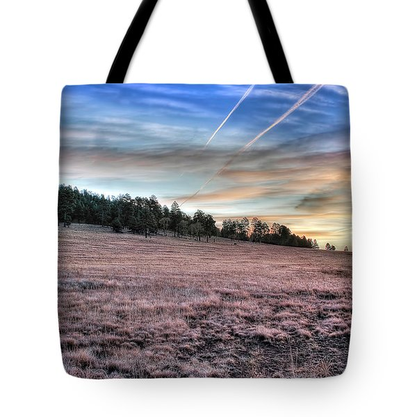 Sunrise Over Ft. Apache Tote Bag