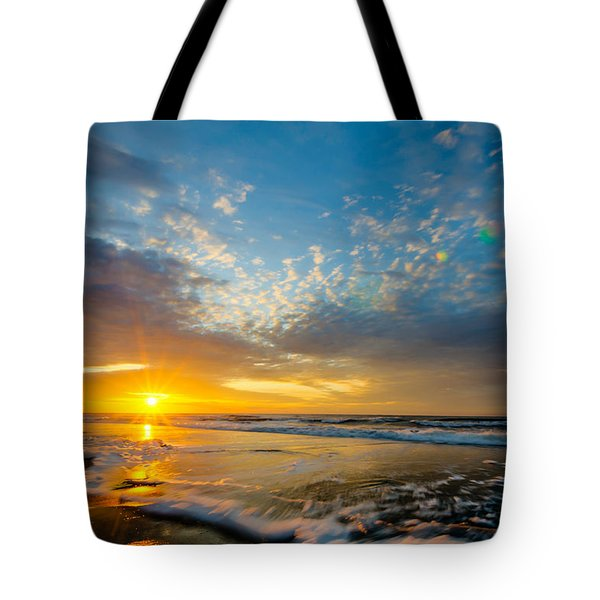 Sunrise Over Myrtle Beach Tote Bag
