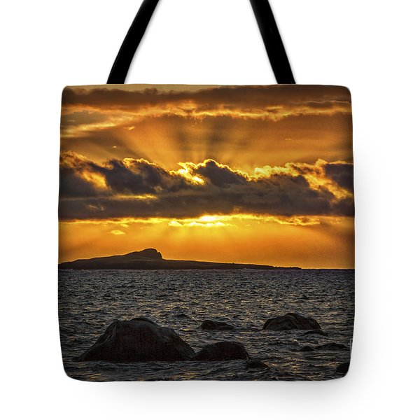 Sunrise Over Rabbit Head Island Tote Bag