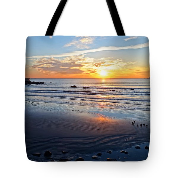 Sunrise Over Red Rock Park Lynn Shore Drive Tote Bag