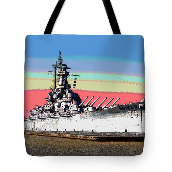 Sunrise Over The Alabama Tote Bag