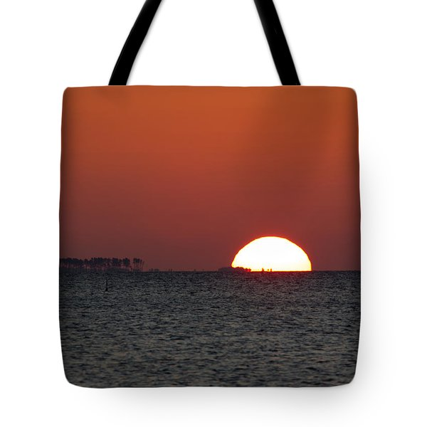 Sunrise Over The Bay 5x7 Tote Bag