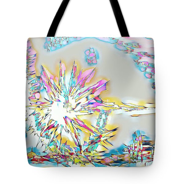 Sunrise Over The City Tote Bag