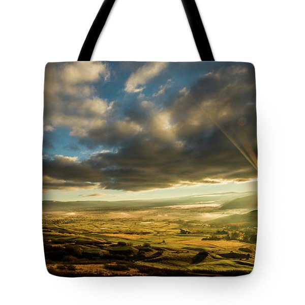 Sunrise Over The Heber Valley Tote Bag