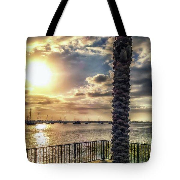 Sunrise Over The Matanzas Tote Bag