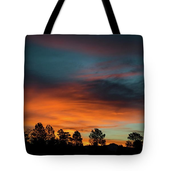 Sunrise Over The Southern San Juans Tote Bag by Jason Coward