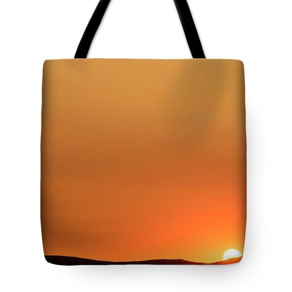Sunrise Over The Umtanum Ridge Tote Bag