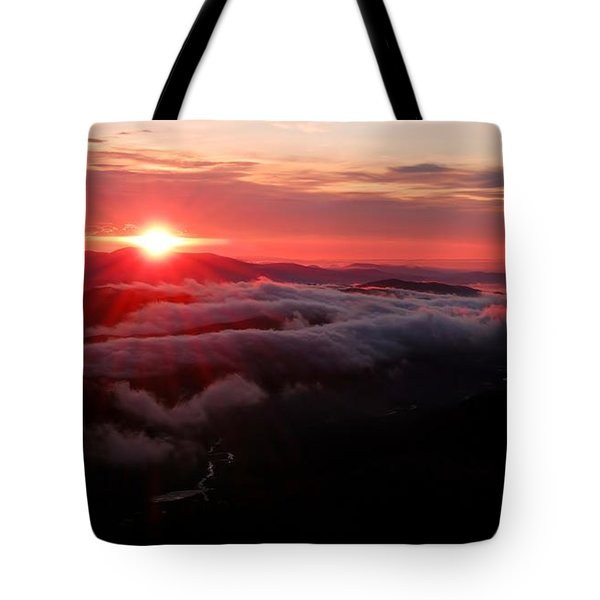 Sunrise Over Wyvis Tote Bag