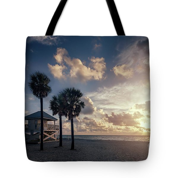 Sunrise Paradise Tote Bag