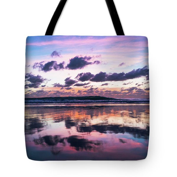 Sunrise Pink Wisps Delray Beach Florida Tote Bag