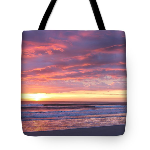 Tote Bag featuring the photograph Sunrise Pinks by LeeAnn Kendall