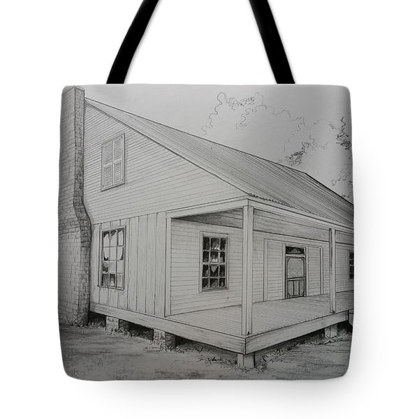 Sunrise Plantation  Tote Bag