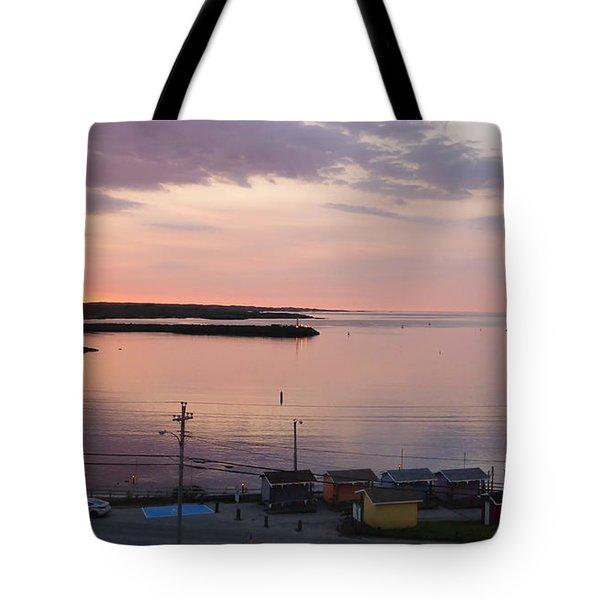 Sunrise Port Aux Basque, Newfoundland  Tote Bag