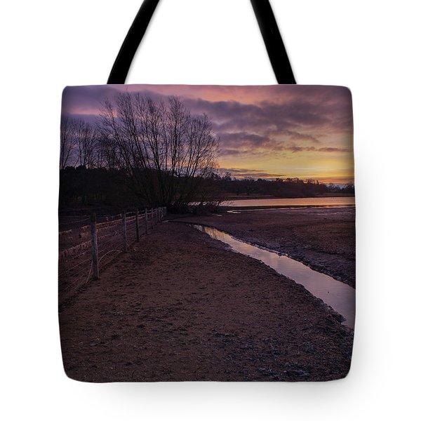 Sunrise, Rutland Water Tote Bag