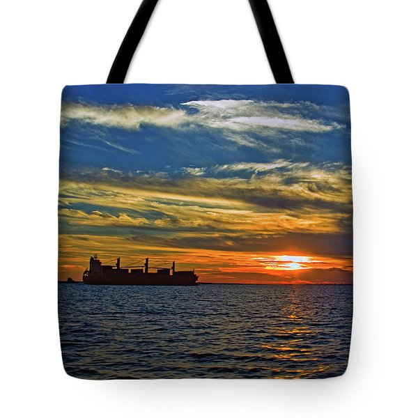 Sunrise Sail Tote Bag
