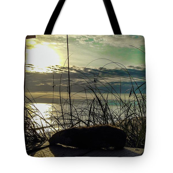 Sunrise Sea Shells Tote Bag