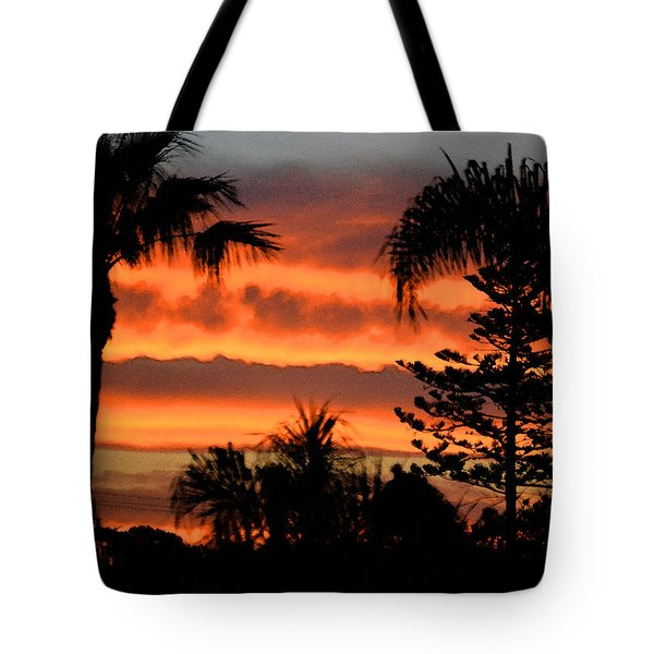 Sunrise Sherbert Tote Bag by Bill Dutting