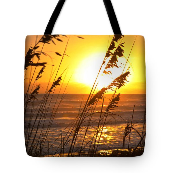 Sunrise Silhouette Tote Bag