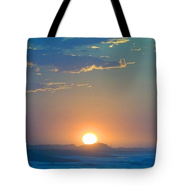 Sunrise Sky Tote Bag