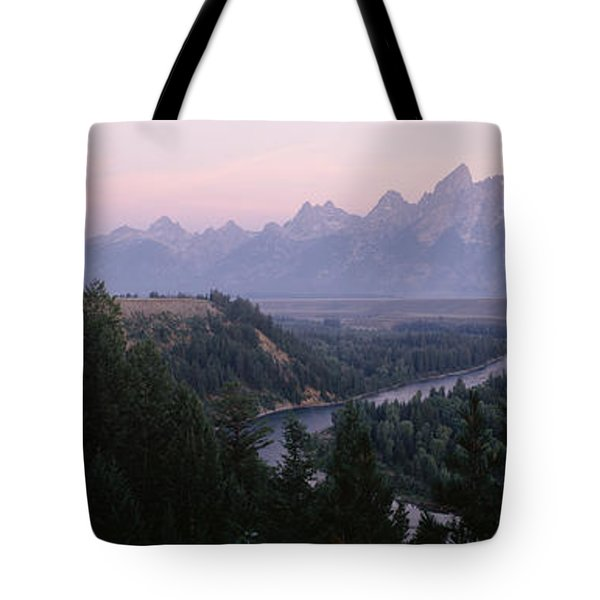 Sunrise Snake River Overlook Grand Tote Bag