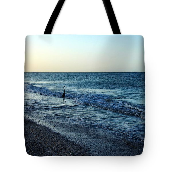 Sunrise Solitude Tote Bag by Debbie Oppermann