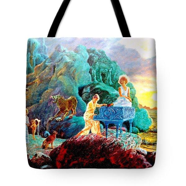 Sunrise Sonata Tote Bag by Henryk Gorecki
