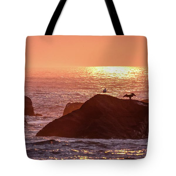 Sunrise, South Shore Tote Bag