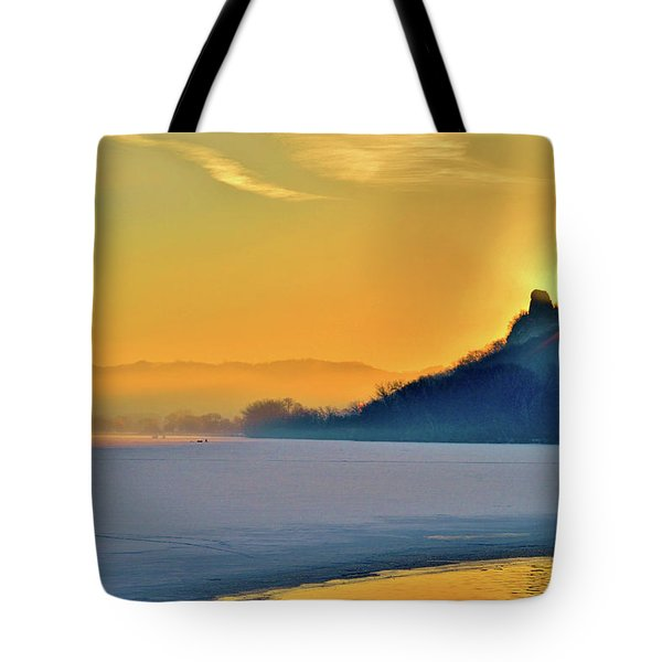 Sunrise Sparkle Tote Bag
