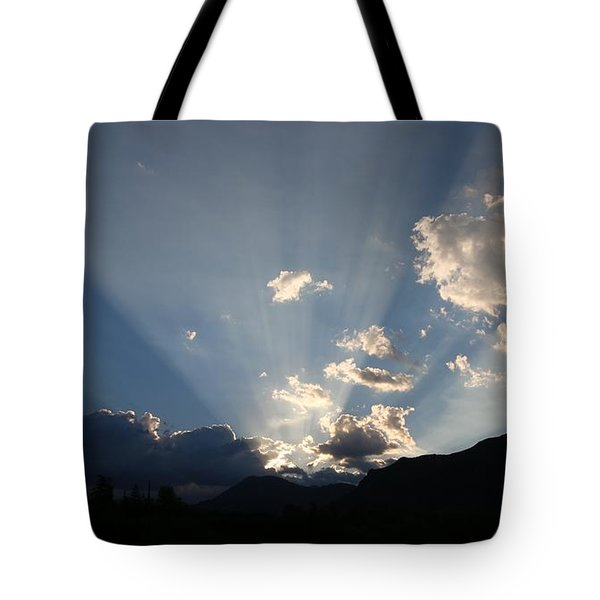 Sunrise Spotlight  Tote Bag by Christy Pooschke