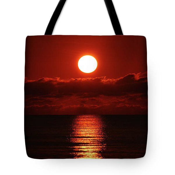 Sunrise Spotlight Delray Beach Florida Tote Bag