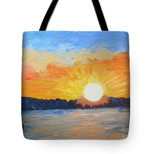 Sunrise Sensation Tote Bag