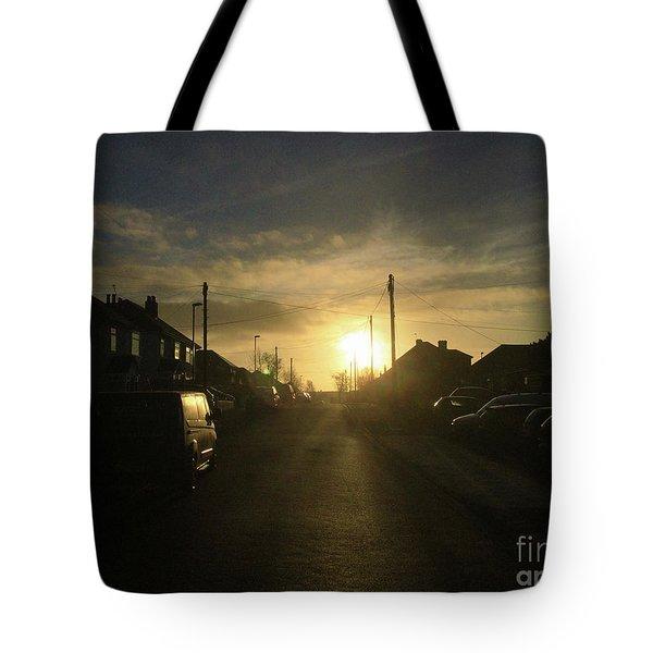 Sunrise Street Tote Bag