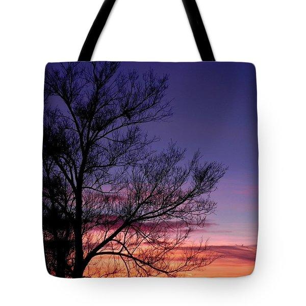 Sunrise, Sunrise Tote Bag by Adrienne Petterson