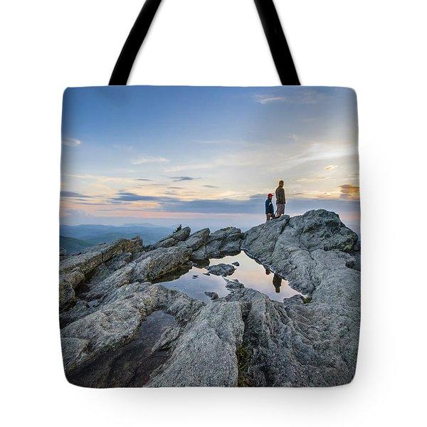 Sunrise Sunset Art Photo - On The Edge Tote Bag