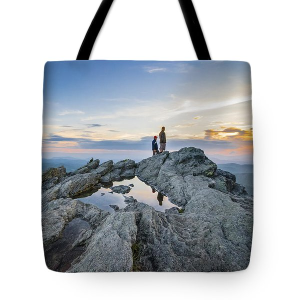 Sunrise Sunset Art Photo - On The Edge Tote Bag