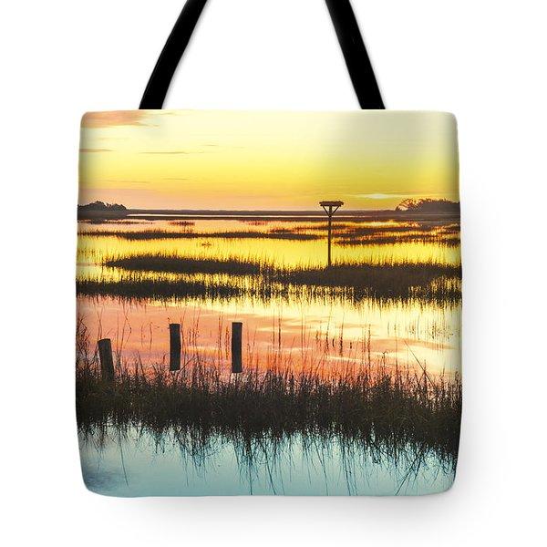 Sunrise Sunset Art Photo - Peace Train Tote Bag