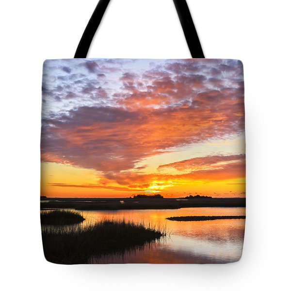 Sunrise Sunset Art Photo - Volcano Tote Bag