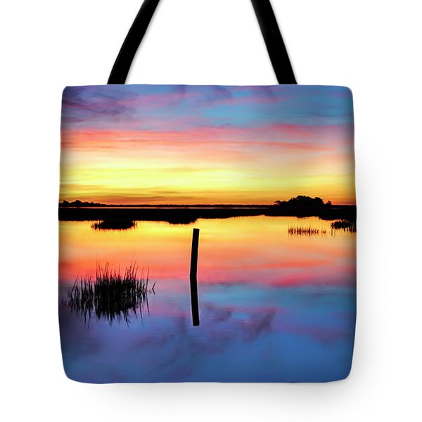 Sunrise Sunset Image Art - Be Here Now Tote Bag