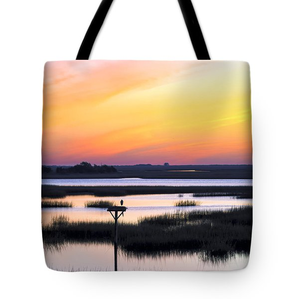 Sunrise Sunset Image Art - Dawn Patrol Tote Bag