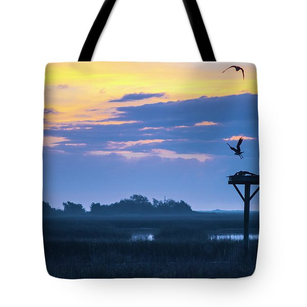 Sunrise Sunset Image Art - Good Friday Tote Bag